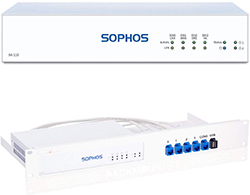 Sophos SG 115 rev.3 Security Appliance Bundle with Rackmount Kit