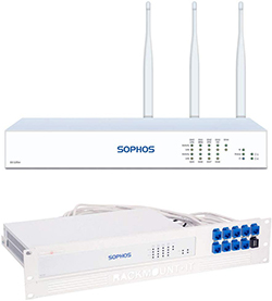 Sophos SG 125 Wireless rev.3 Security Appliance Bundle with Rackmount Kit